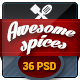 Awesome Spice-One Page Restaurant Theme Nulled