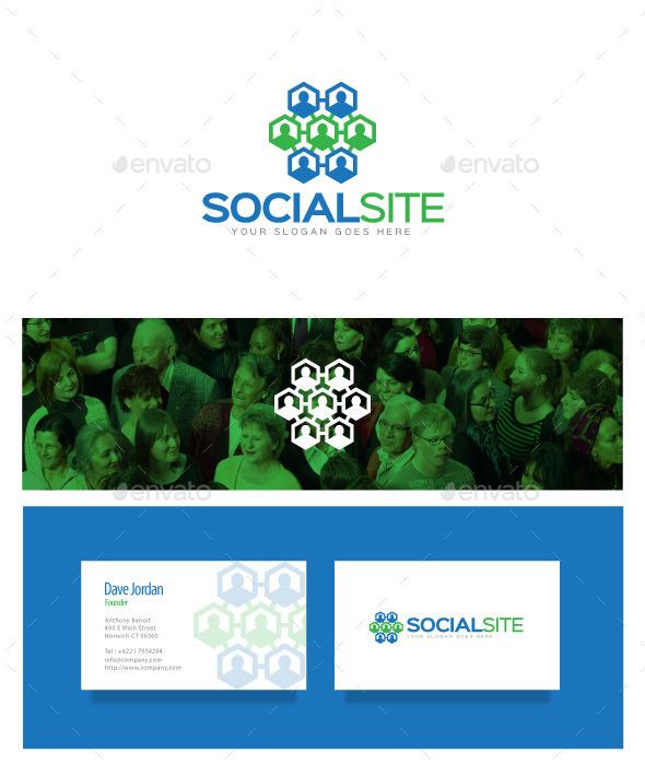 Social Site Logo - Symbols Logo Templates
