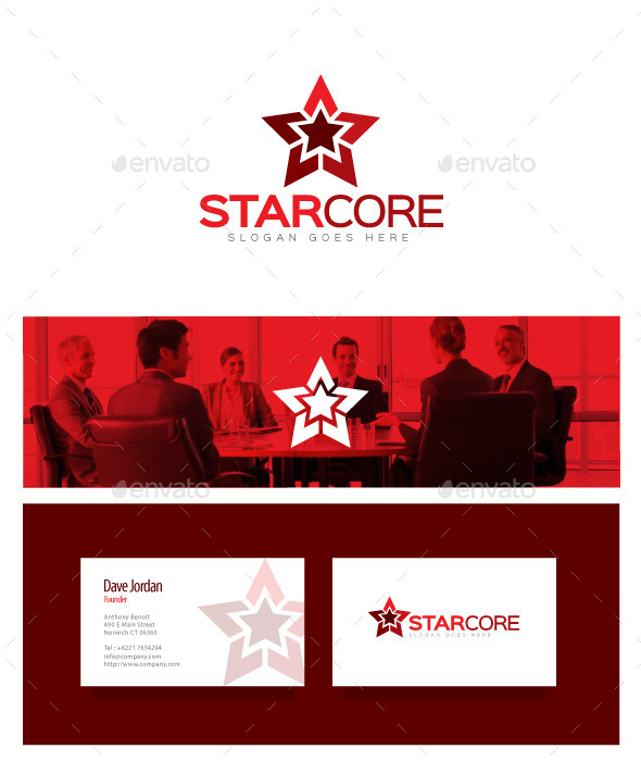 Star Core - Star Logo - Objects Logo Templates