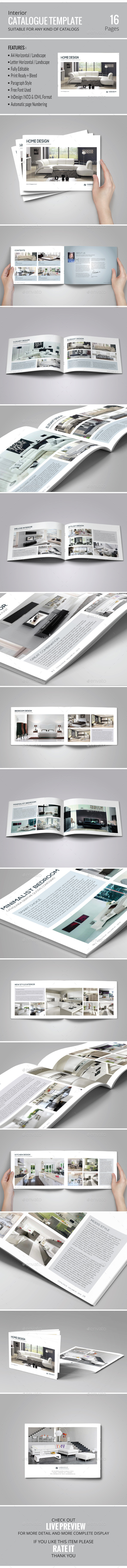 Catalog Template Vol. 04 - Catalogs Brochures