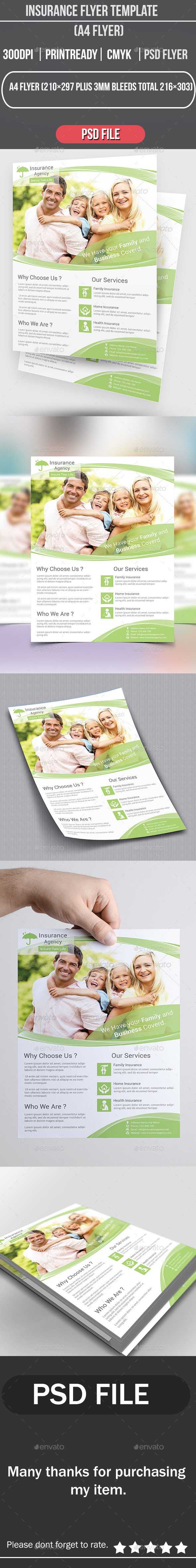 Insurance Flyer Template - Corporate Flyers
