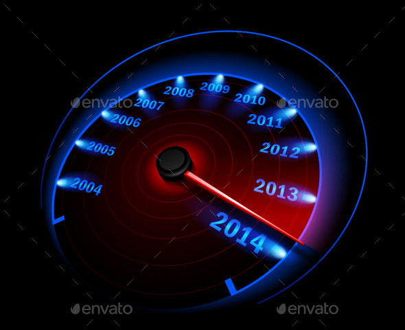 Speedometer - New Year Seasons/Holidays
