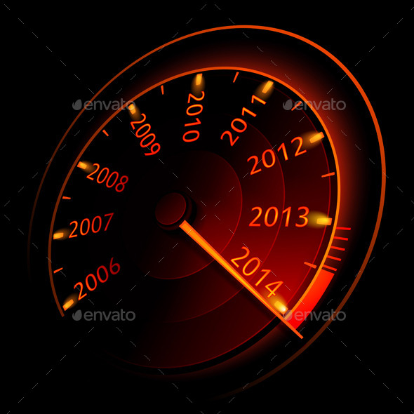 Speedometer  - Abstract Conceptual