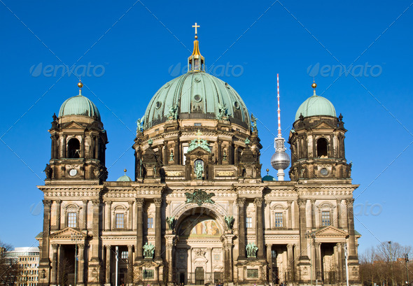 Berliner Dom - Stock Photo - Images