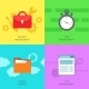 Office Management Icons Set - GraphicRiver Item for Sale