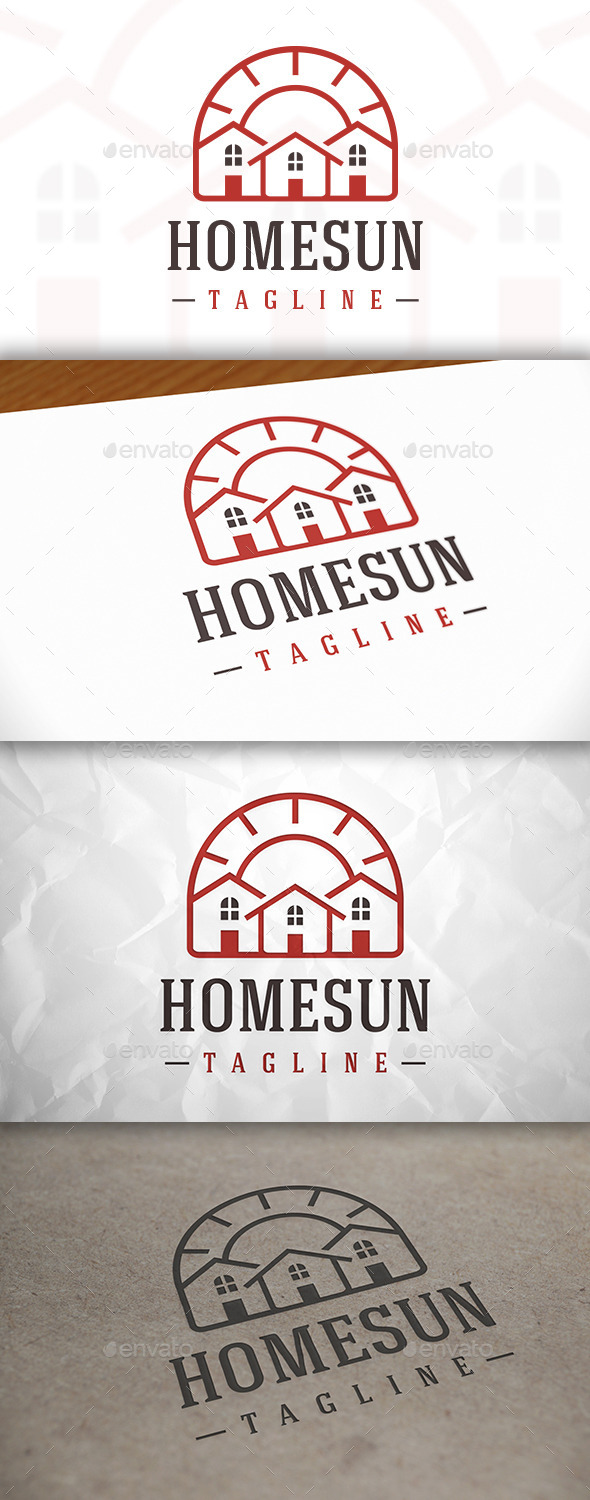 Home Natural Logo Template - Buildings Logo Templates