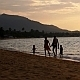 Happy Family Walking on Beach - VideoHive Item for Sale