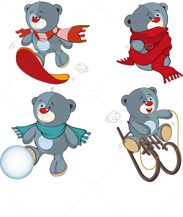 Stuffed Bear Toys - Animals Characters