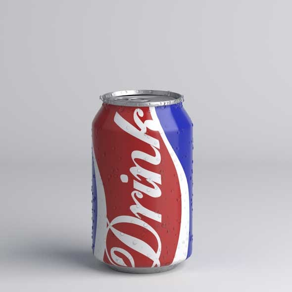 330 ml soda can - 3DOcean Item for Sale