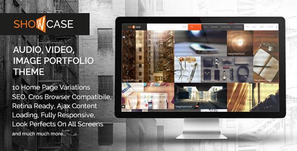 Showcase – Ajax / HTML Responsive Portfolio Theme