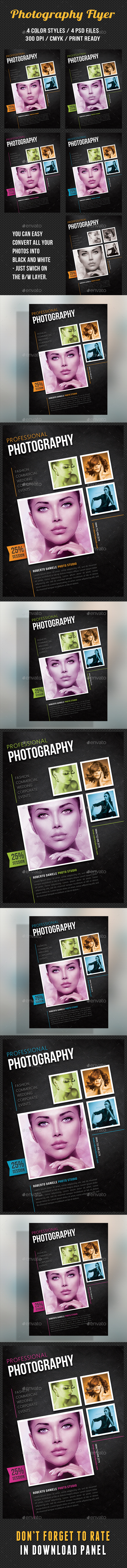 Photography Studio Flyer 11 - Corporate Flyers
