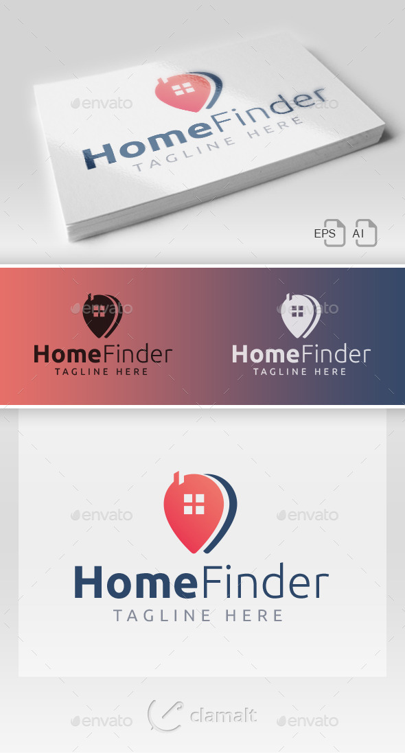 Home Finder Logo - Buildings Logo Templates