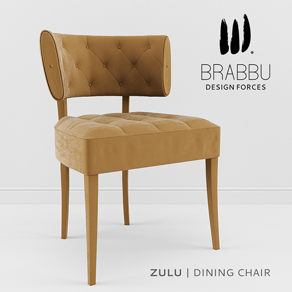 Brabbu - Zulu DIning Chair - 3DOcean Item for Sale