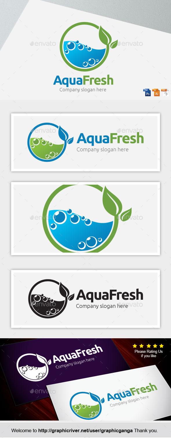 Aqua Fresh - Nature Logo Templates