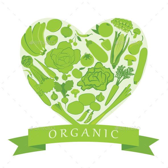 Organic Food - Food Objects