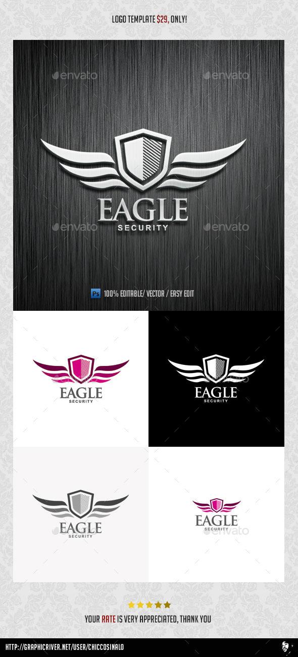 Eagle Security Logo Template - Abstract Logo Templates