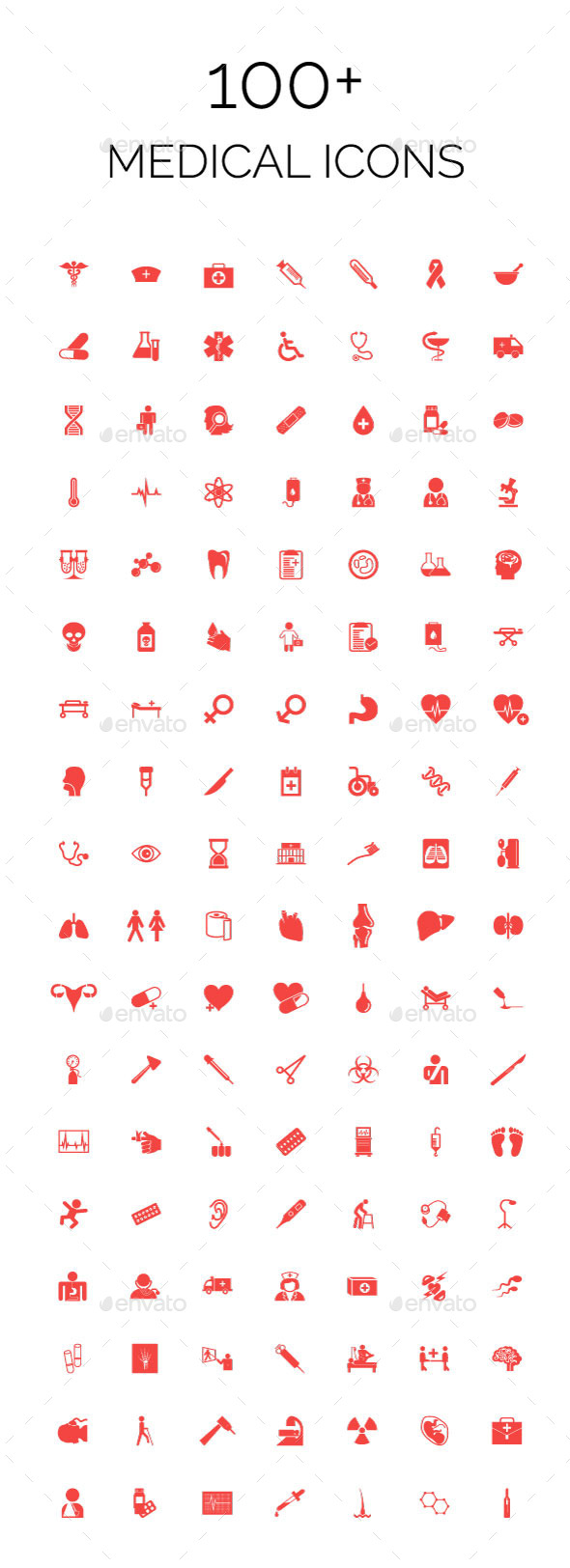 100+ Medical Icons - Objects Icons