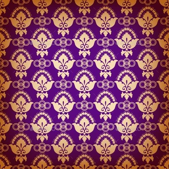 Seamless Pattern with Ethnic Motifs - Backgrounds Decorative