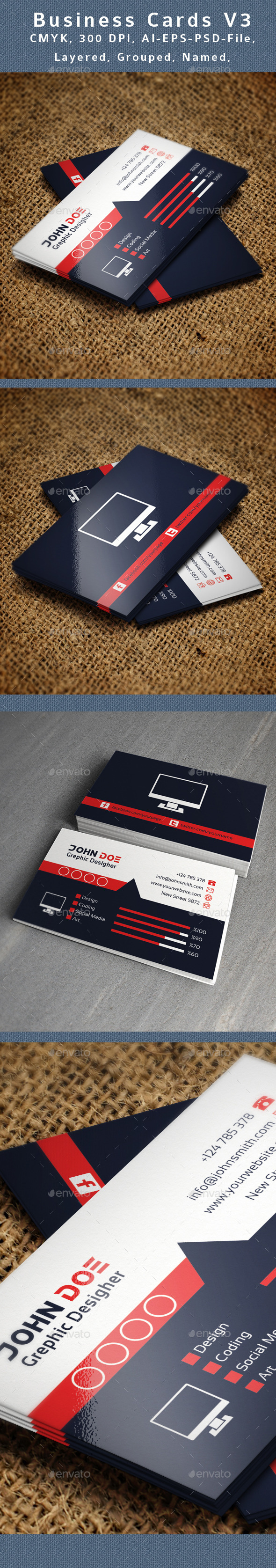 Creative Business Card V3 - Creative Business Cards