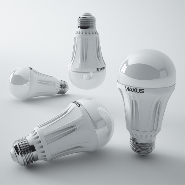 Maxus Led Lamp - 3DOcean Item for Sale