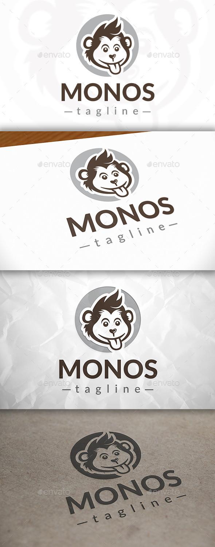 Monkey Logo Template - Animals Logo Templates