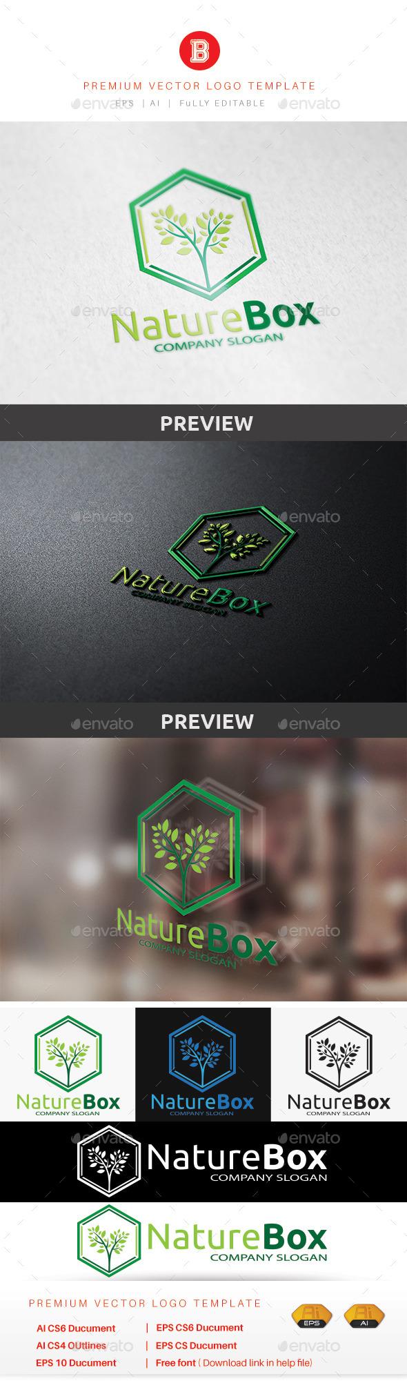 Nature Box - Nature Logo Templates