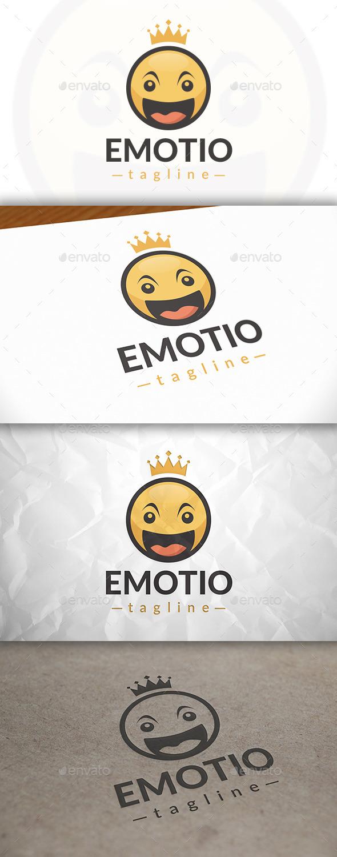 Happy king Logo - Humans Logo Templates