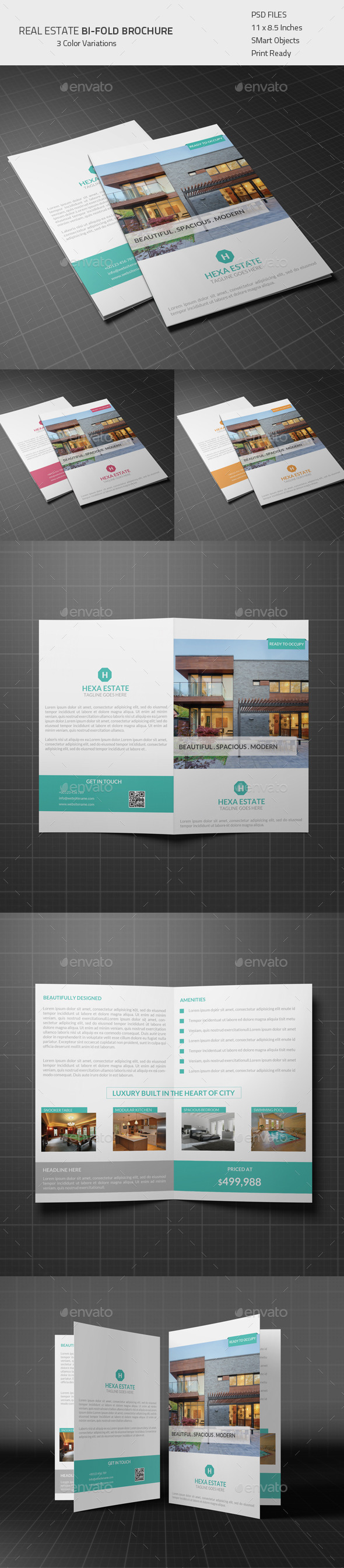 Real Estate Bi-fold Brochure - Corporate Brochures
