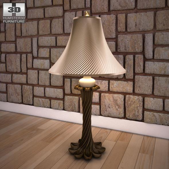 Ashley Erin Table Lamp - 3D model.
