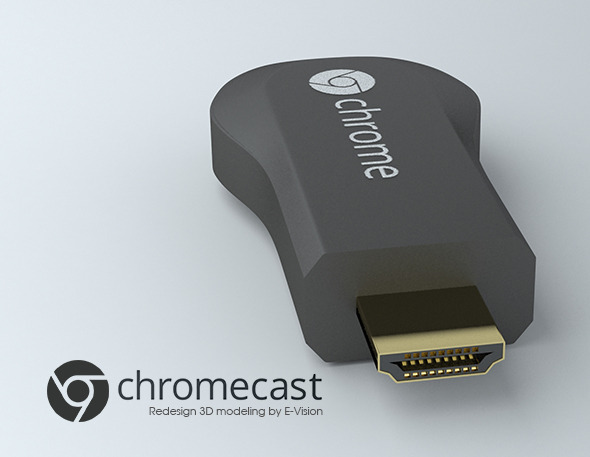 Google Chromecast device - 3DOcean Item for Sale
