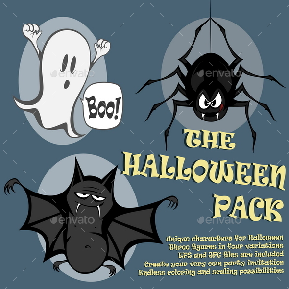 Halloween Pack - Halloween Seasons/Holidays