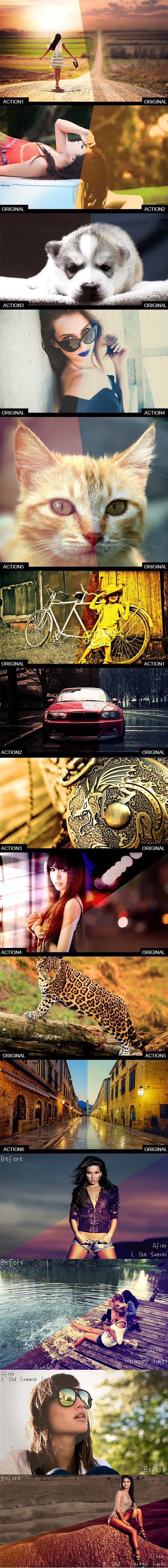 Actions Bundle - Actions Photoshop