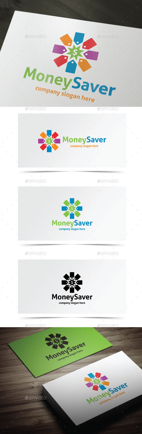 Money Saver - Objects Logo Templates