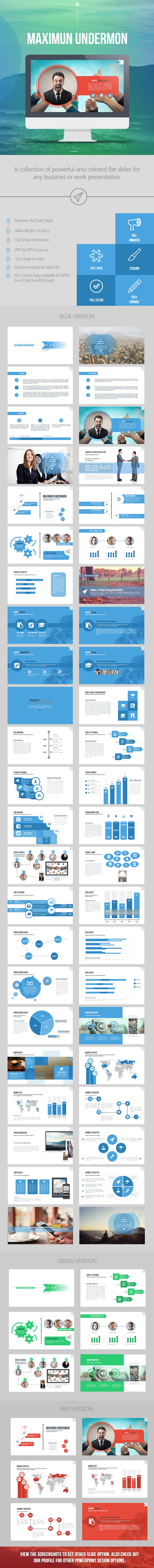 Maximun Undermon Business - Business PowerPoint Templates