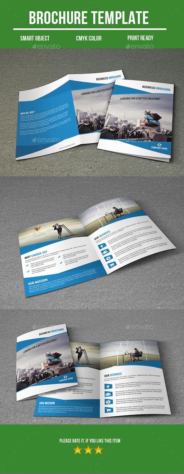 Business Bi- Fold Brochure - Corporate Brochures