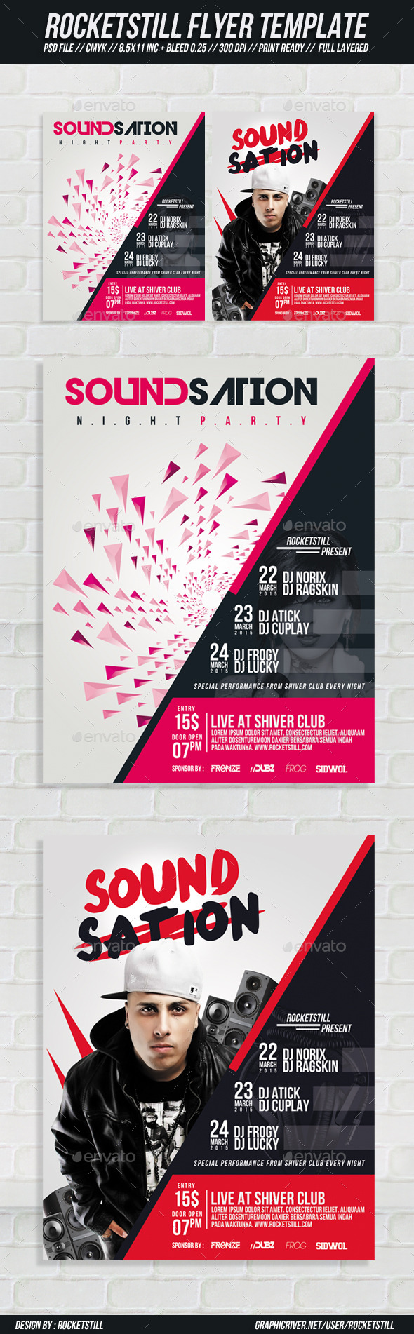 Sound Sation - Flyer - Clubs & Parties Events