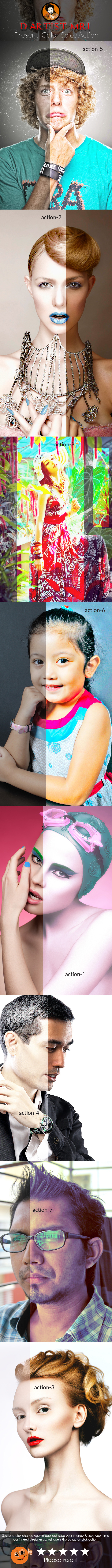 Color Spice Action - Actions Photoshop