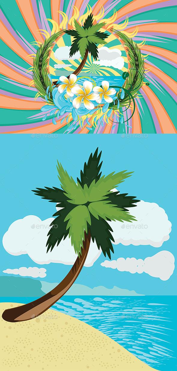 Tropic Island - Nature Conceptual
