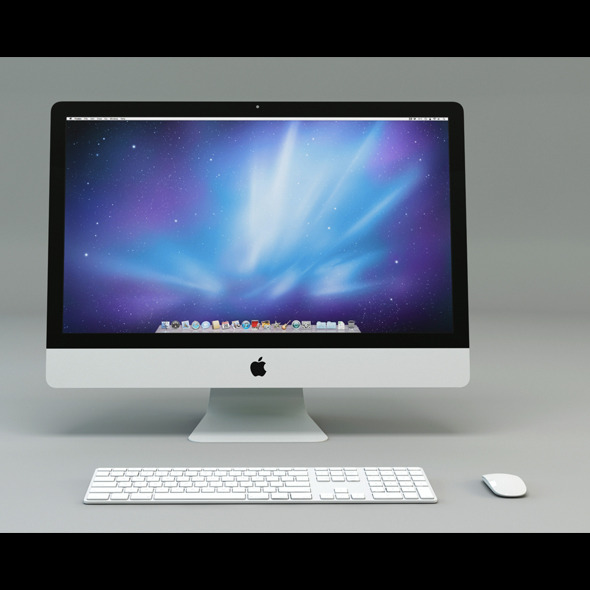 imac Set - 3DOcean Item for Sale
