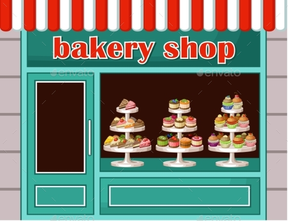 Store of Sweets and Bakery.  - Birthdays Seasons/Holidays