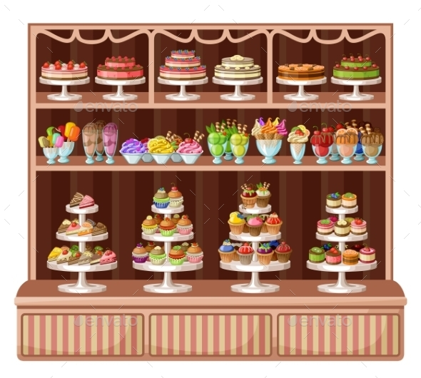 Store of Sweets and Bakery.  - Retail Commercial / Shopping