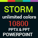 Storm PowerPoint Presentation Template - GraphicRiver Item for Sale