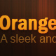 orangeDream - ThemeForest Item for Sale