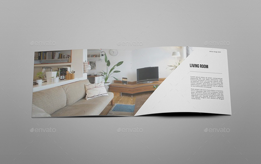 A5 Interior Design Brochure Catalog By Giantdesign Graphicrivera5