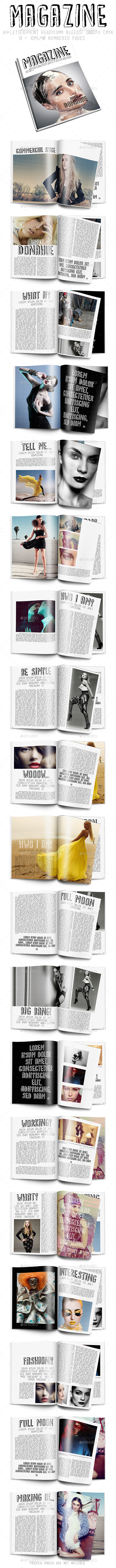 Style Magazine  - Magazines Print Templates