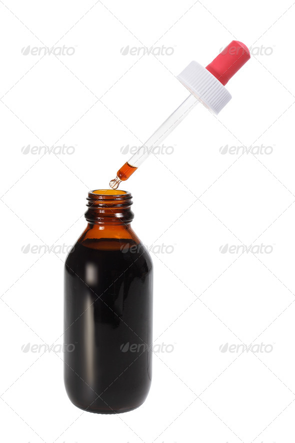 Drop Bottle - Stock Photo - Images