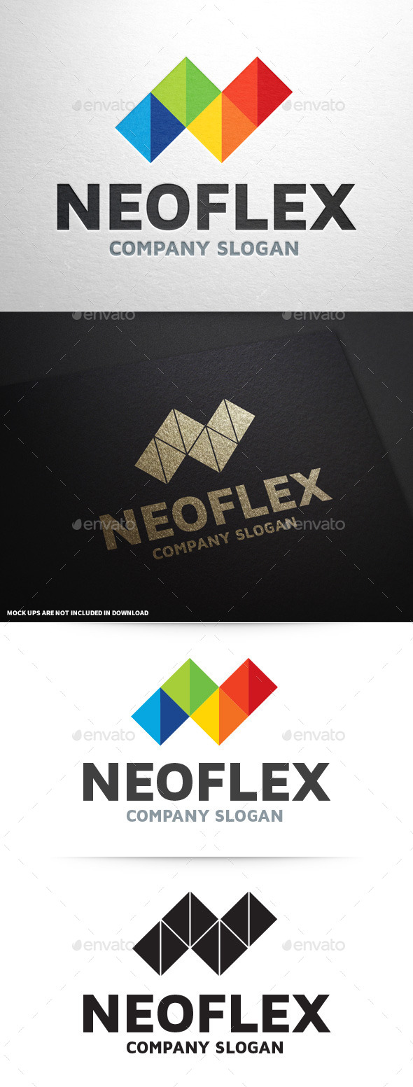 NeoFlex - Letter N Logo - Letters Logo Templates