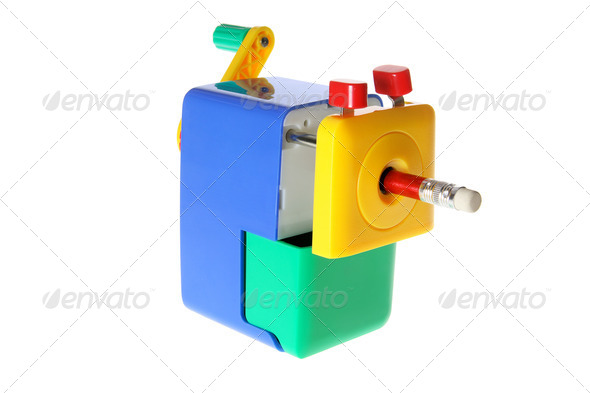 Pencil Sharpener - Stock Photo - Images