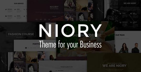 Niory – One Page Responsive Joomla Template