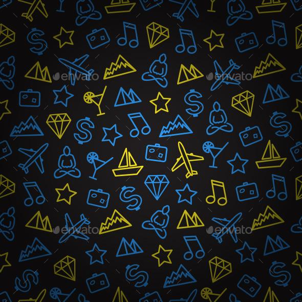 Traveling Seamless Pattern - Patterns Decorative